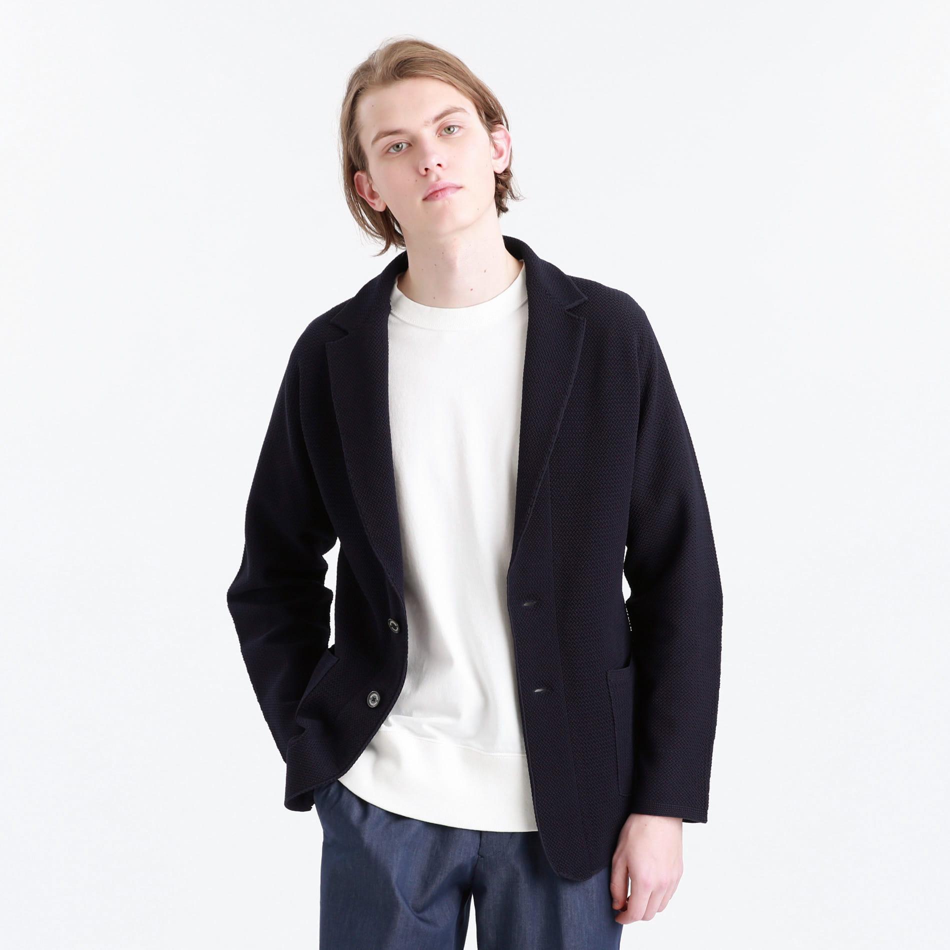 ポリエステルカノコホールガーメントジャケット