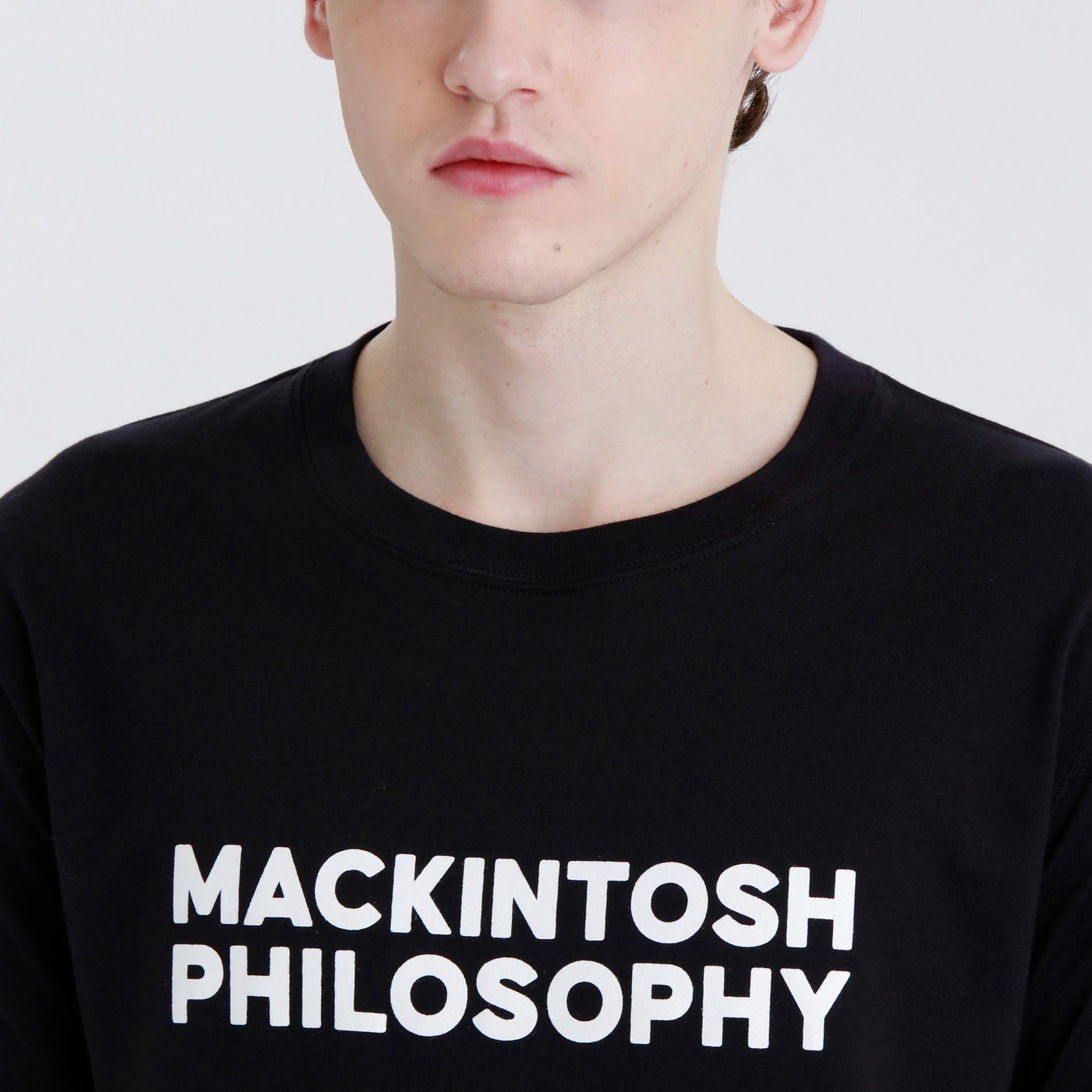 ボールドロゴTシャツ