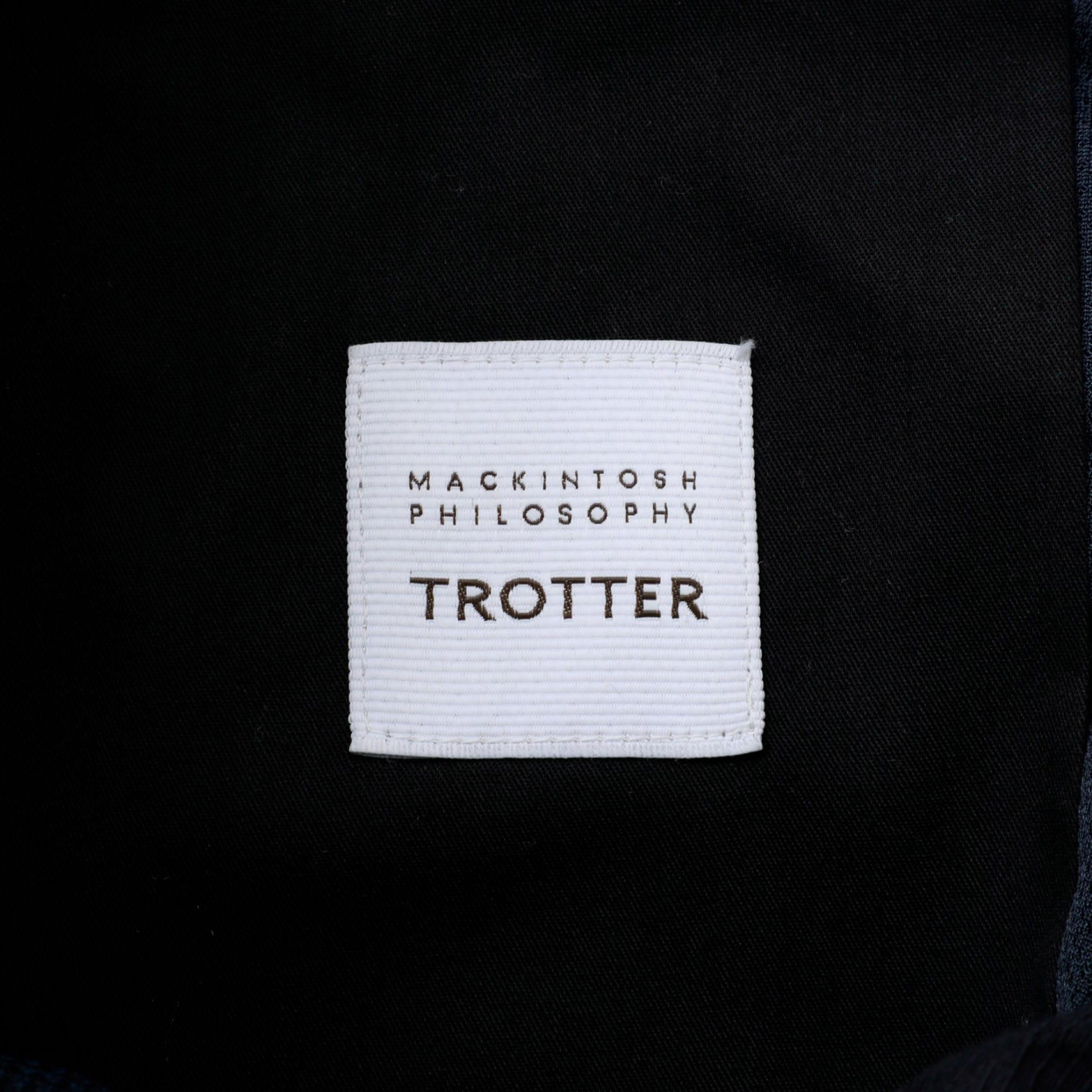 TROTTER バーズアイストレッチ TROUSERS#000
