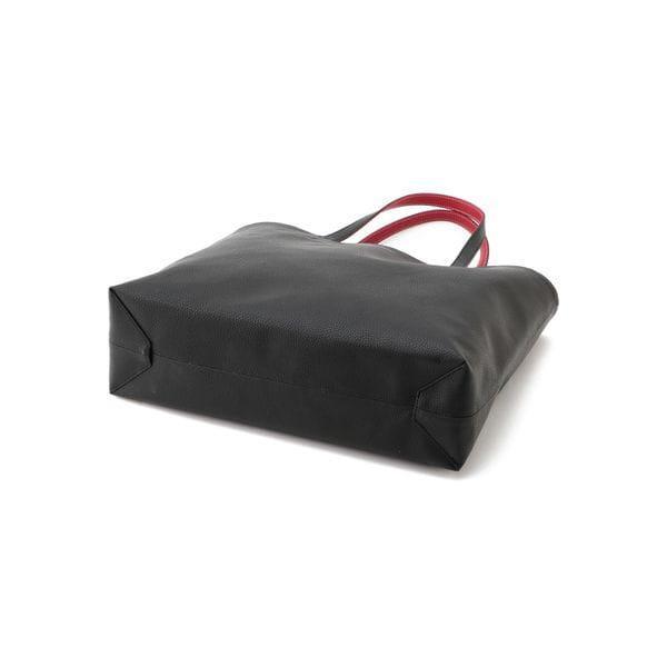 リバーシブル バイカラートートバッグ