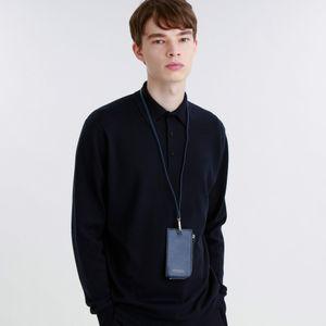 【店舗限定】シンセティックレザーネックウォレット
