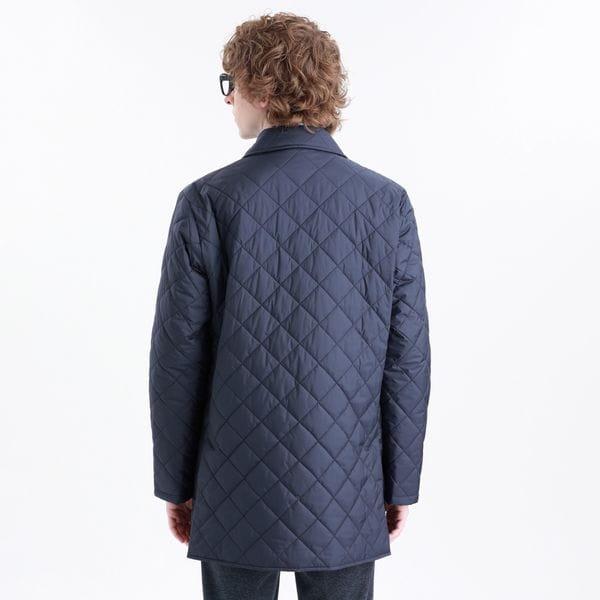 高密度タフタ キルティングコート