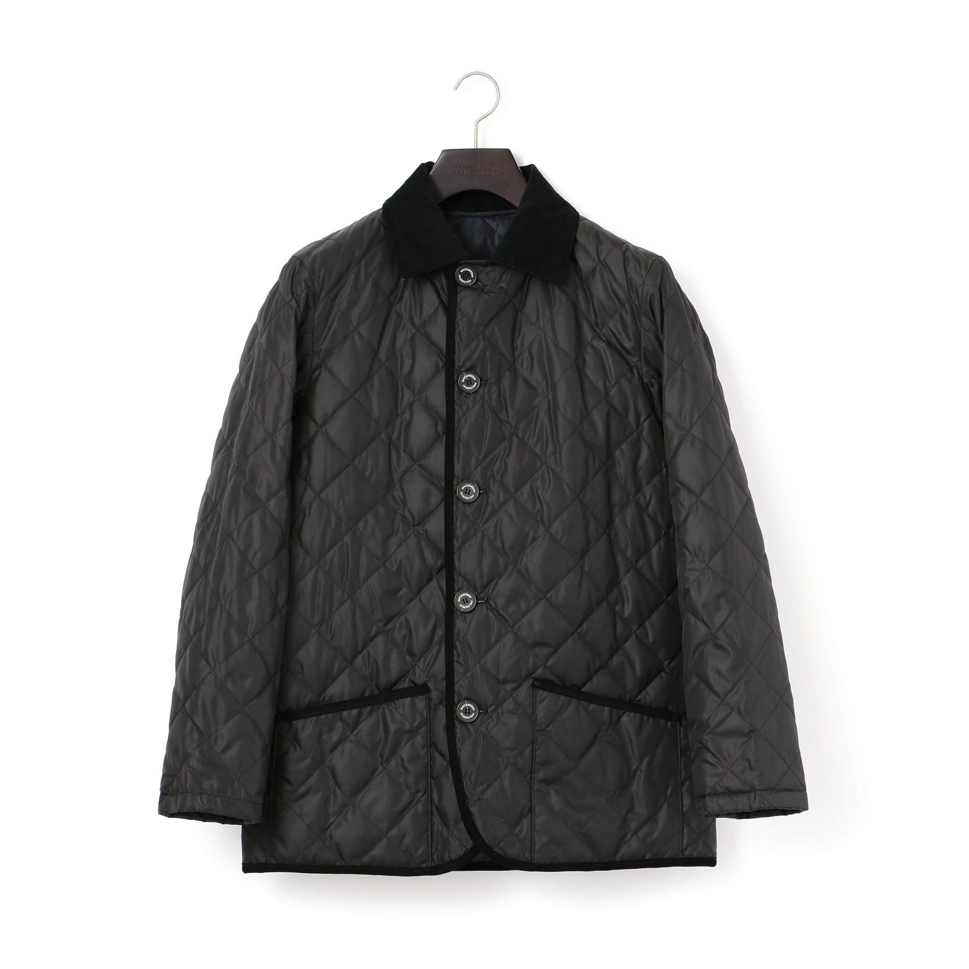 【WARENFORD】 高密度ポリエステルタフタ キルティングジャケット