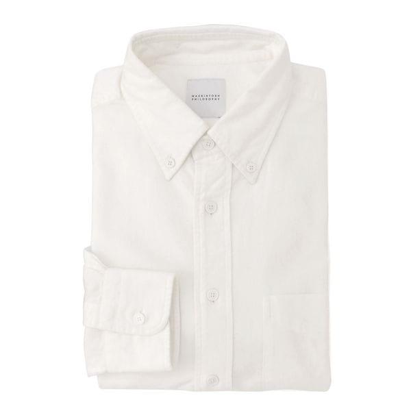 シャンブレーフランネル ブリティッシュB.Dシャツ