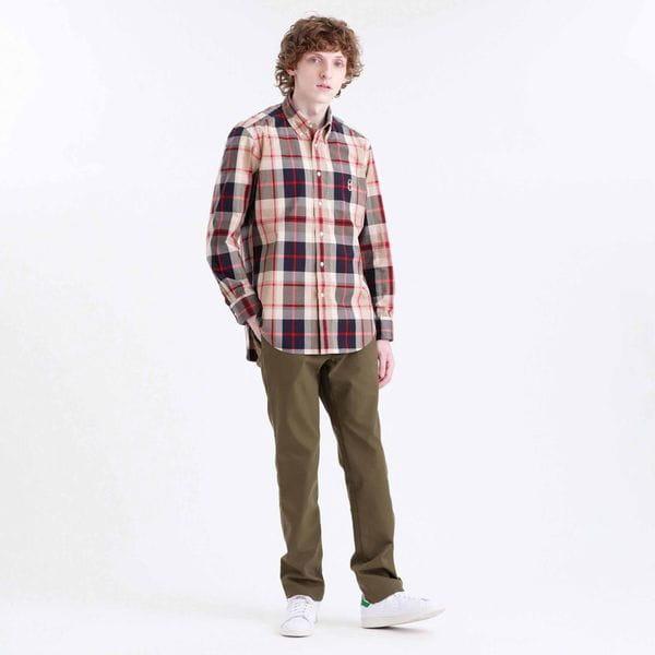 【BUCKINGHAM BEAR】ハウスチェックB.Dシャツ