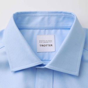TROTTER SHIRTS フレンチツイルワイドカラー