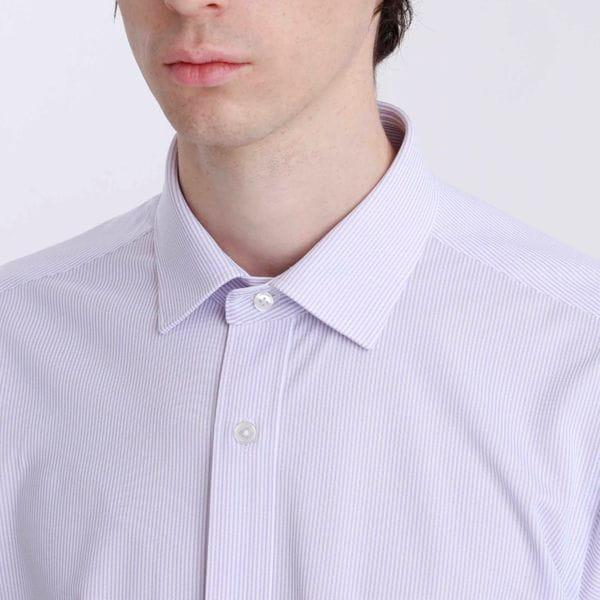トロッターシャツ ストライプジャージ
