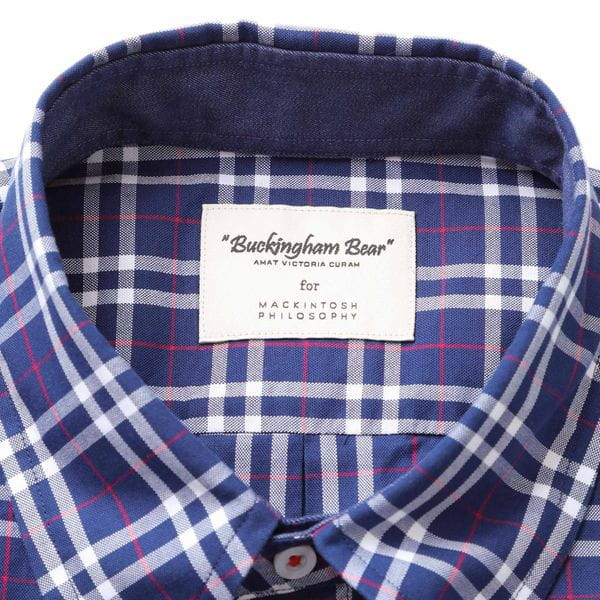 デニム/タータンチェック BB 半袖 B.D