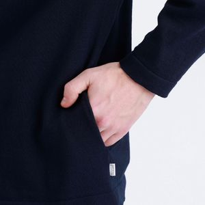 ドライミックスニット ポケット付きカーディガン