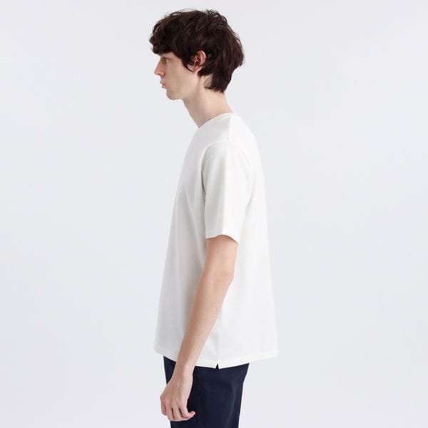 クルーネック半袖Tシャツ ドライタッチカノコ