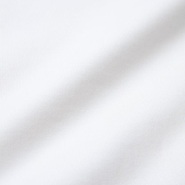 オーガニックコットン天竺 クルーネック半袖T