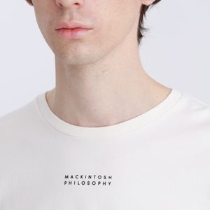 クルーネックロゴTシャツ