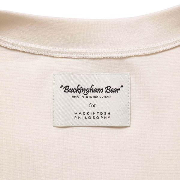 【BUCKINGHAM BEAR】クルーネックカーディガン