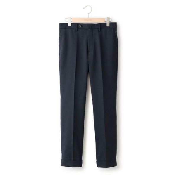 TROTTER バーズアイストレッチ TROUSERS#000
