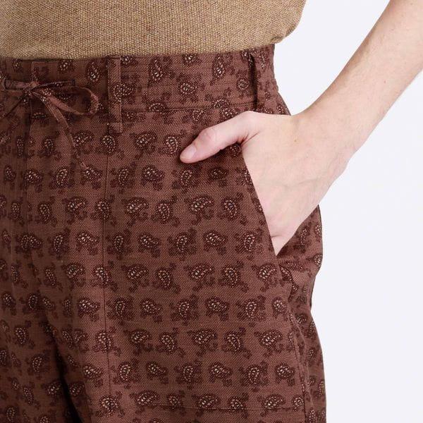 ミリタリーツイル/ペイズリー EASY PANTS