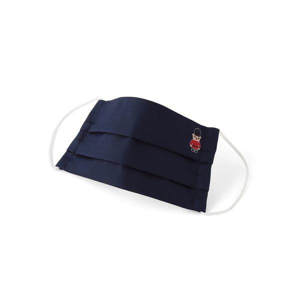 バッキンガムベア コットンオックス プリーツマスク