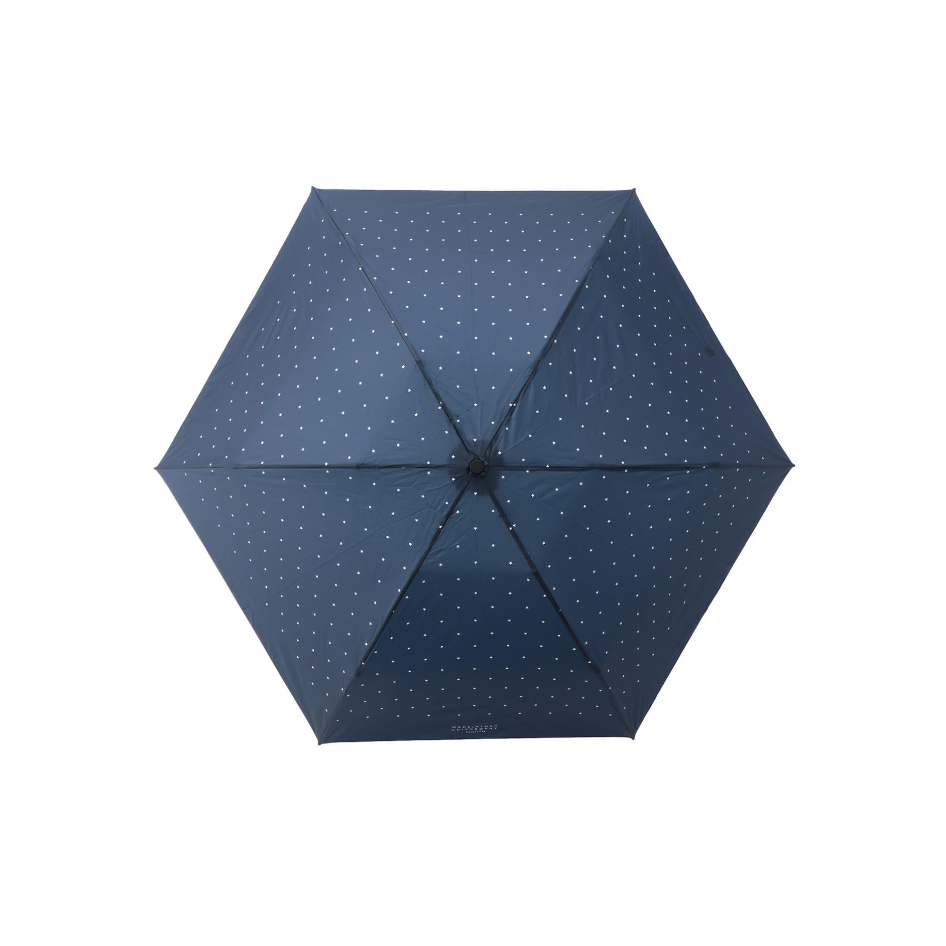 【Barbrella®】50cmタイプ 軽量ミニ傘 星柄