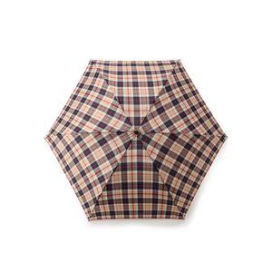 【Barbrella®】55cmタイプ軽量ミニ傘 ハウスチェック