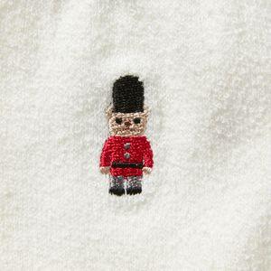 バッキンガムベア刺繍 パイルソックス