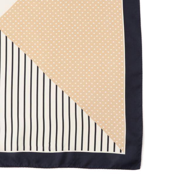 ドットミックススカーフ