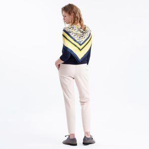 ペイズリーミックススカーフ