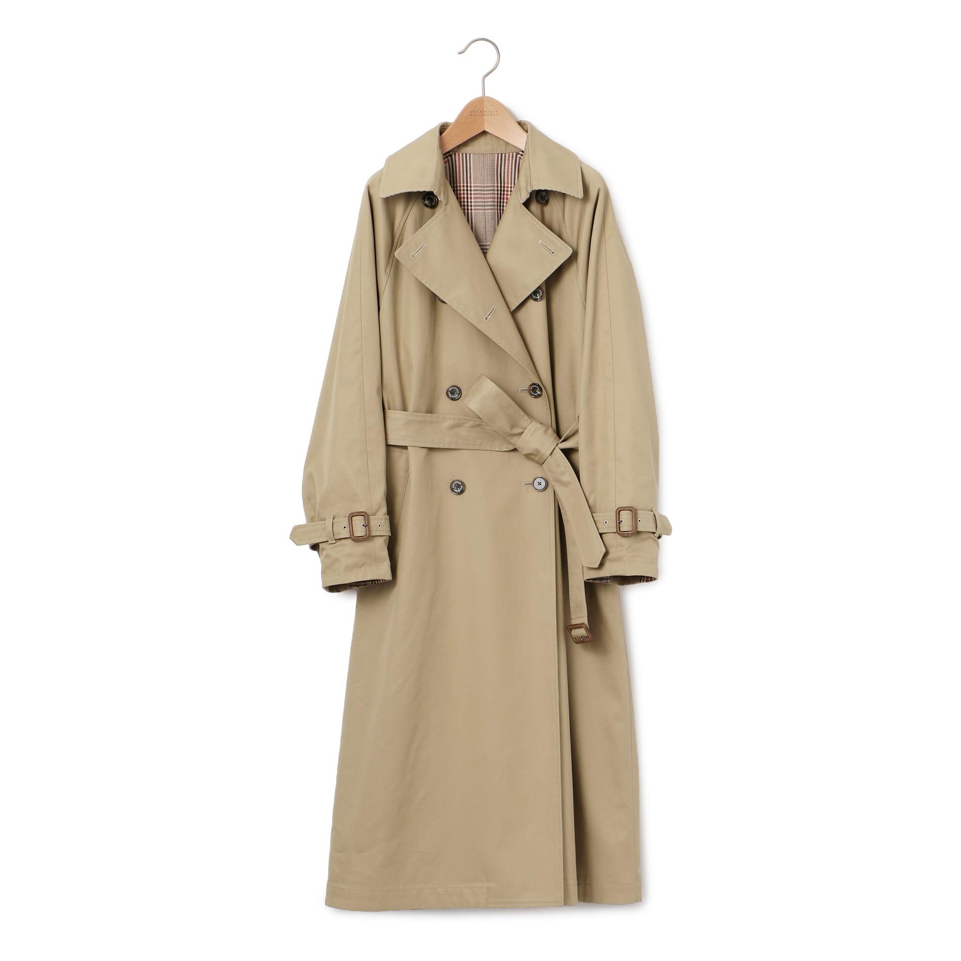 finest selection ae61d b7346 コート - WOMEN - リバーシブルトレンチコート - MACKINTOSH ...