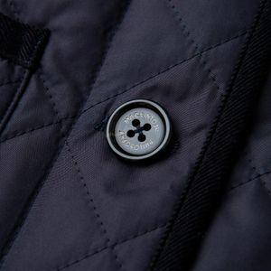 <LINDETH>ポランプロテクトキルティングフーデッドコート