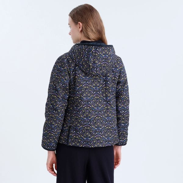 <COWIE>スノーブルーガーデンキルトジャケット