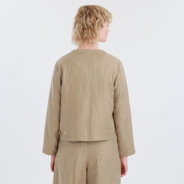 リネンツイルジャケット