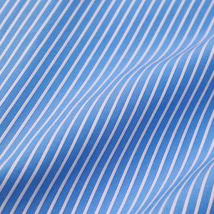 フリルカフスストライプシャツ