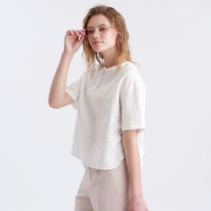レタード刺繍Tシャツ
