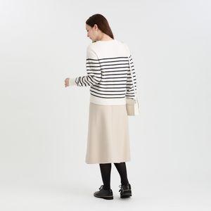 ウールラップスカート