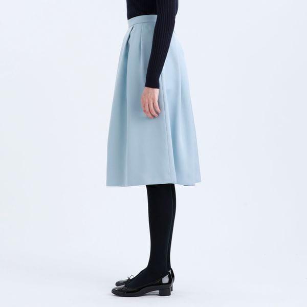 ダブルサテンスカート