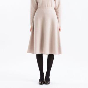 フレアニットスカート