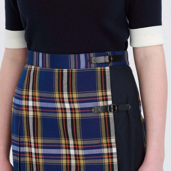 タータンチェックキルトスカート