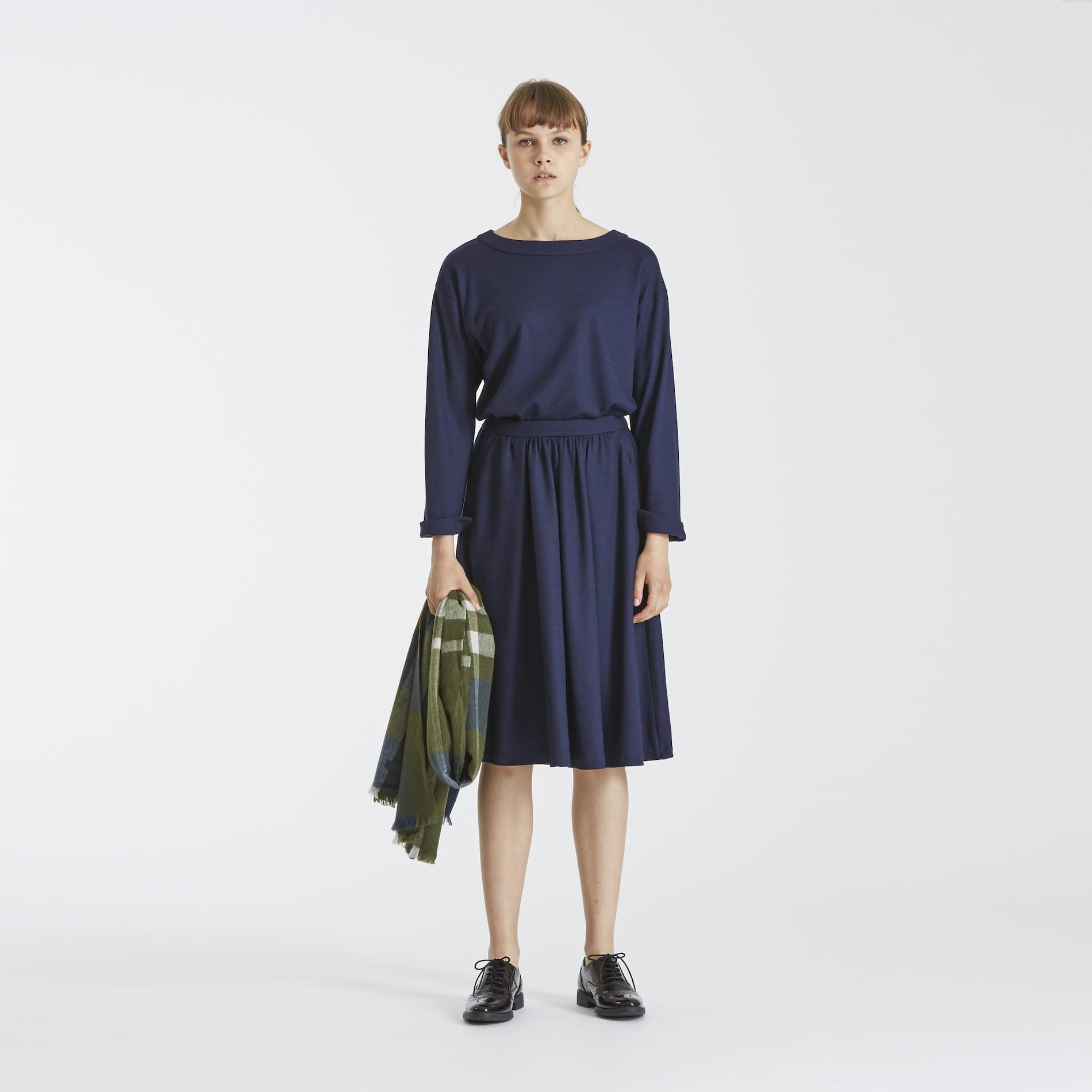 セットアップジャージースカート