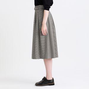 ギンガムサッカースカート