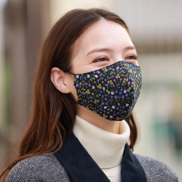 Snowblue Gardenマスク