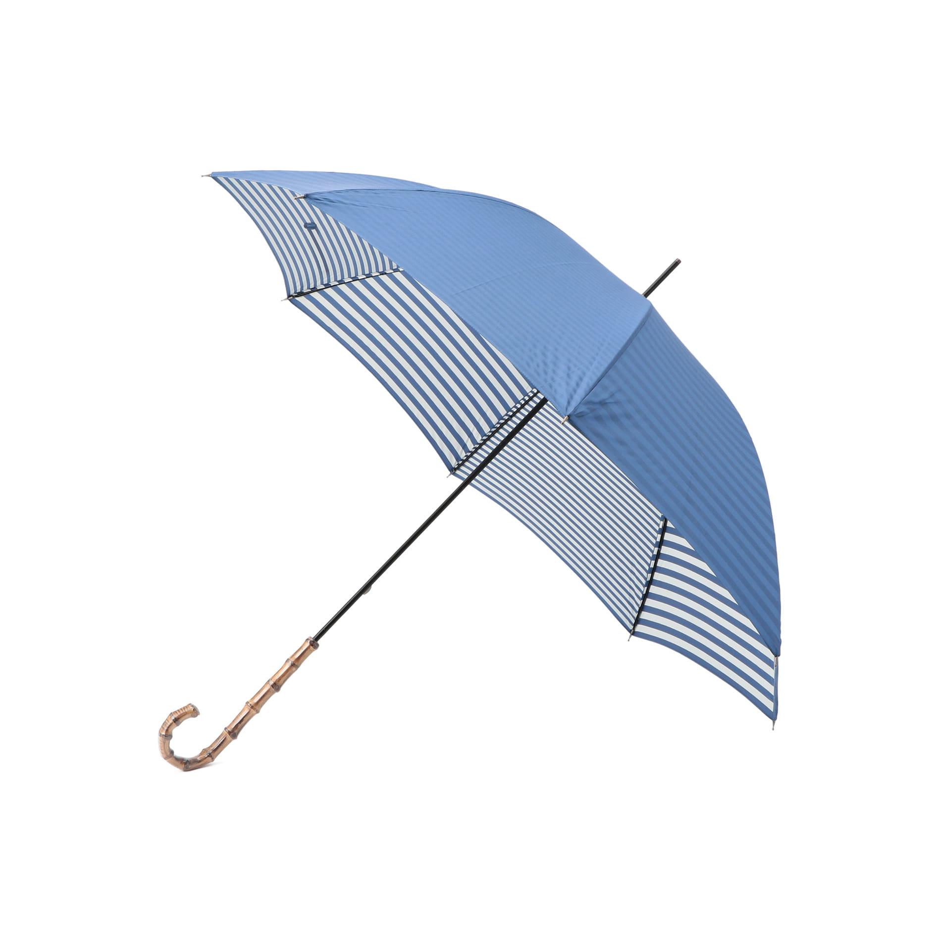 晴雨兼用裏ボーダー長傘