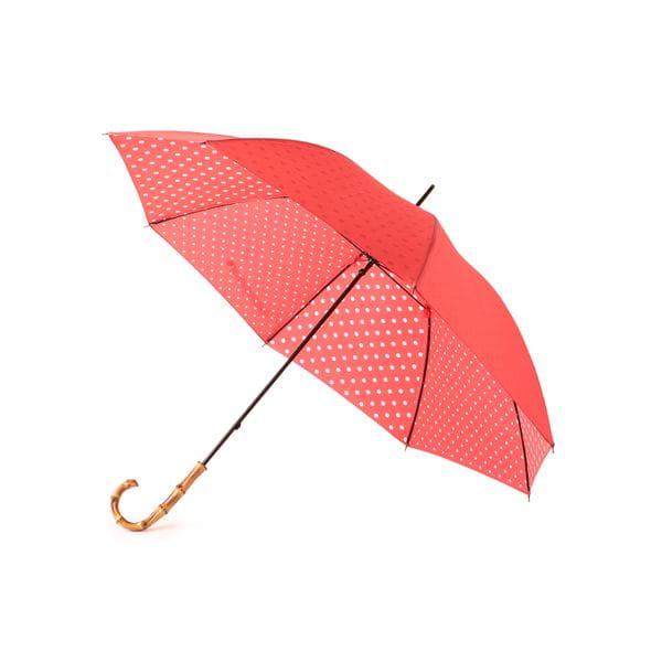 裏ドット長傘