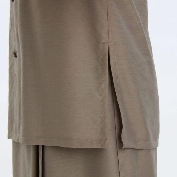 GREY LABEL シアーシャツジャケット