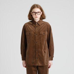 GREY LABEL ミリタリーコーデュロイシャツ