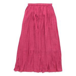 ヴィンテージサテンマキシスカート