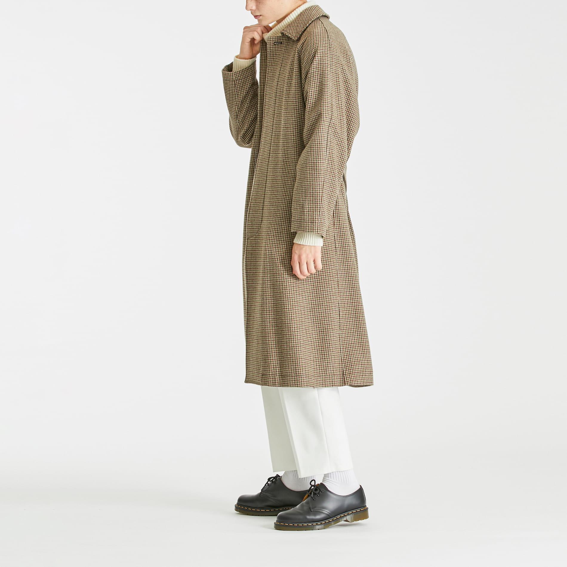 ガンクラブチェックコート
