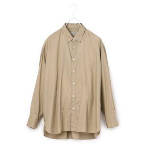 レギュラーカラービッグシャツ