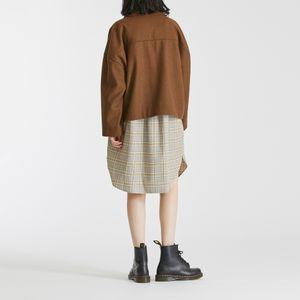 オーバーサイズショートジャケット