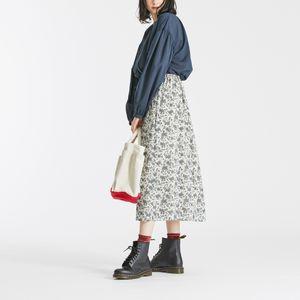 イングリッシュローズプリントスカート